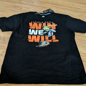 NHL Anaheim Ducks  shirt size L BNWT